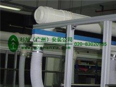 广州通风管道安装 毕诚电子厂通风安