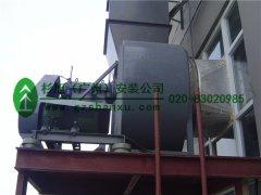 广州印刷厂通风管道-绘通印业室外通